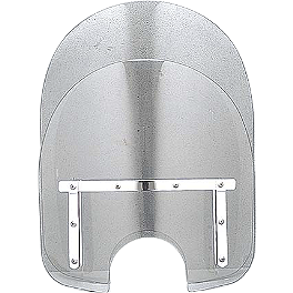 Yamaha Star Accessories Windshield Mounting Hardware - 2008 Yamaha V Star 1100 Classic - XVS11A Yamaha Star Accessories Classic Deluxe Saddlebags - Plain