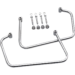 Yamaha Star Accessories Saddlebag Support Bars - 2003 Yamaha V Star 1100 Classic - XVS1100A Yamaha Star Accessories Luggage Rack