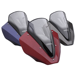 Yamaha Star Accessories Mini Fairing - Yamaha Star Accessories Quick Release Short Midnight Touring Windshield - 17