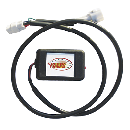 Speedo Tuner Plug & Play - 2000 Honda VTR1000 - Super Hawk Koso LCD Temperature Gauge