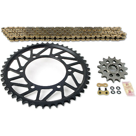 Superlite 520 Sprocket And Chain Kit - Stock Gearing - Main