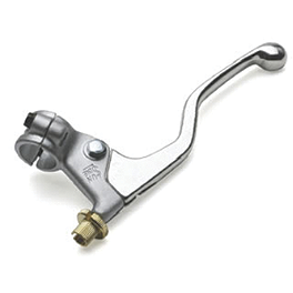 Sunline Die Cast Clutch Assembly - Silver - 1992 Honda CR80 Sunline Forged OEM Clutch Lever - Silver