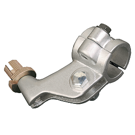 Sunline Die Cast Clutch Perch - Silver - 2000 Suzuki RM125 Sunline Forged OEM Clutch Lever - Silver
