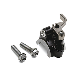 Sunline EC-2 Hotstart Lever - 2012 Honda CRF150R Big Wheel Turner Adjust On The Fly Clutch Lever & Perch With Hot Start - Silver