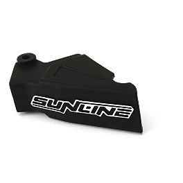 Sunline SL-4 Clutch Lever Boot - Black - 2005 Honda CR85 Big Wheel Sunline SL-4 V1 Replacement Clutch Lever Boot