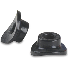 Sunline Valve Stem Support Seal - Black - Sunline Stainless Steel Arch Footpegs
