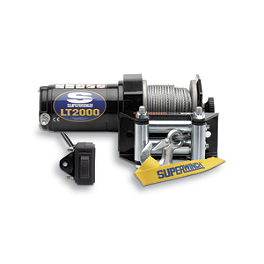 Superwinch LT2000 Winch - Moose Winch With Synthetic Rope - 1,700 Pound