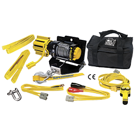 Superwinch Winch-In-A-Bag 2500 - Moose Winch With Synthetic Rope - 1,700 Pound