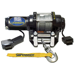 Superwinch LT3000 Winch - 2002 Suzuki EIGER 400 4X4 SEMI-AUTO Superwinch Mounting Kit