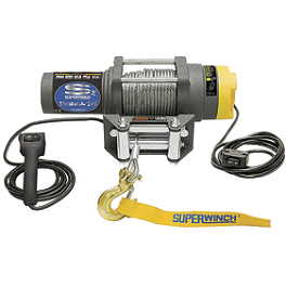 Superwinch Terra 35 Winch With Cable Rope - 2004 Polaris SPORTSMAN 700 EFI 4X4 Superwinch Mounting Kit