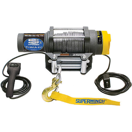 Superwinch Terra 25 Winch With Cable Rope - Main