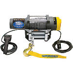 Superwinch Terra 25 Winch With Cable Rope - ATV Winches and Bumpers for Utility Quads