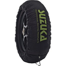 Suzuka Dual-Temp Tire Warmers - 110-120 / 155-170 - Suzuka Basic Tire Warmers - 110-120 / 155-170