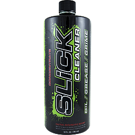 Slick Cleaner Concentrate - 32oz Bottle - Slick Shine - 13oz Aerosol