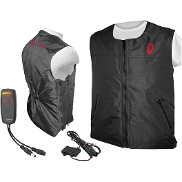 Symtec Heat Demon Heated Vest With Vehicle Powered Bundle - Symtec Heat Demon SAE To 2.5 DC Male Plug