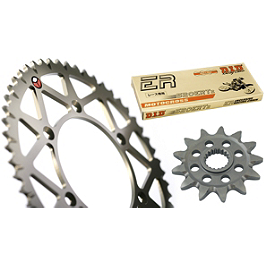 TAG Chain And Sprocket Kit - 2000 KTM 520MXC Sunstar Chain & Aluminum Sprocket Combo
