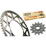 TAG Chain And Sprocket Kit - DID-DIRT-BIKE-PARTS-CHAIN-520-ERV3-XRING-120-LINKS DID Dirt Bike