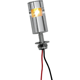 Targa Incandescent License Lamp - Targa Aluminum License Mount