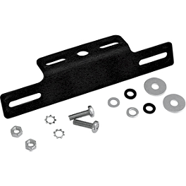 Targa Aluminum License Mount - Targa Fender Eliminator Kit