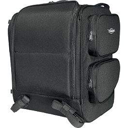 T-Bags Dresser Backseat Bag - Saddlemen BR4100 Dresser Back Seat Bag