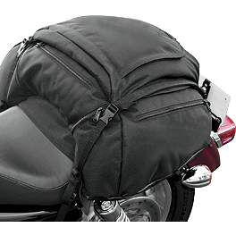 T-Bags Falcon Bag - Kuryakyn Deluxe Convertible Luggage Rack Bag