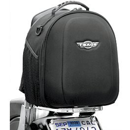 T-Bags Reno Sissy Bar Bag - T-Bags Super-T With Roll Bag And Net
