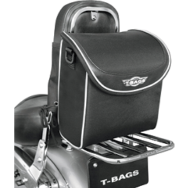 T-Bags Sissy Bar Glove Bag - Saddlemen SSR1200 Universal Bike Bag