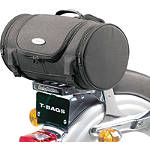 T-Bags Saddle Roll With Lining - Cruiser Sissy Bar Bags