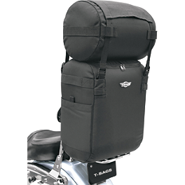 T-Bags Universal Original - Motocentric Cruiser Roll Bag And Pack Combo