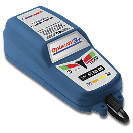 TecMate Optimate 3+ Charger - TecMate Optimate 4 Turbo Charger