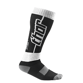 2014 Thor MX Socks - 2012 Fox Fri Socks - Thin