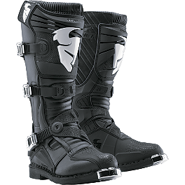 2014 Thor Ratchet Boots - 2013 Answer Podium Boots