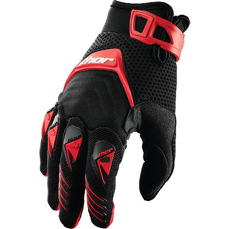 2013 Thor Deflector Gloves - Main