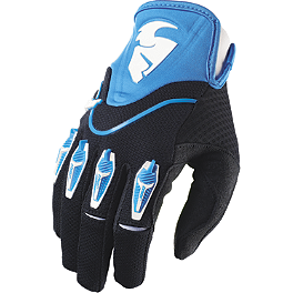 2014 Thor Flow Gloves - 2013 Troy Lee Designs Ace Gloves