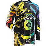 2012 Thor Flux Jersey - Thor Dirt Bike Riding Gear