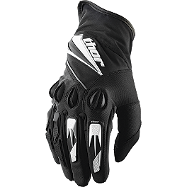 2014 Thor Insulator Gloves - 2013 Thor Deflector Gloves