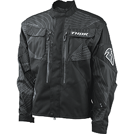 2014 Thor Phase Jacket - 2012 Fly Racing Patrol Riding Jacket