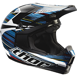 2013 Thor Quadrant Helmet - Frequency - 2012 Fox V1 Helmet - Race