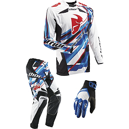 2013 Thor Core Combo - Sweep - 2013 Troy Lee Designs SE Pro Combo - Corse