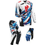 2013 Thor Core Combo - Sweep - Thor Dirt Bike Pants, Jersey, Glove Combos