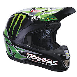 2013 Thor Force Helmet - Pro Circuit - 2013 Fox V3 Helmet - RC Monster Matte