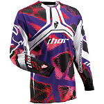 2013 Thor Flux Jersey - Fiber - Thor Dirt Bike Riding Gear