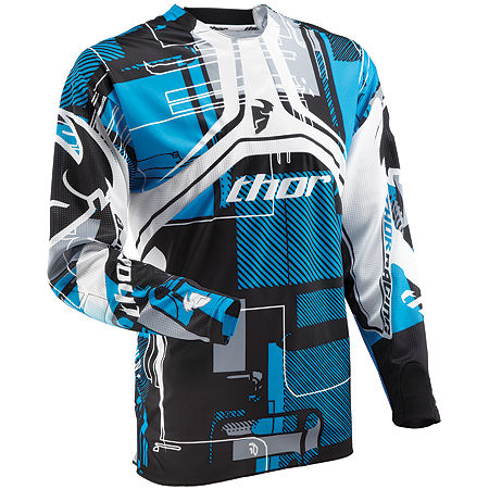 2013 Thor Flux Jersey - Circuit - Main