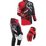2013 Thor Phase Combo - Splatter - Thor Dirt Bike Pants, Jersey, Glove Combos