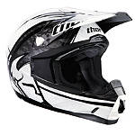 2013 Thor Quadrant Helmet - Splatter - Thor Dirt Bike Off Road Helmets