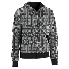 Thor Women's Harper Zip Hoody - Metal Mulisha Women's Ladie Hoody