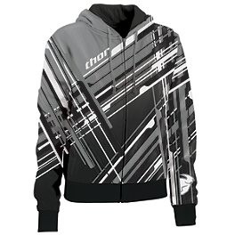 Thor Women's Stix Zip Hoody - Metal Mulisha Women's Ladie Hoody