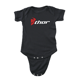 2013 Thor Infant Loud N' Proud Pajamas - Smooth Industries Speed Romper - My Number