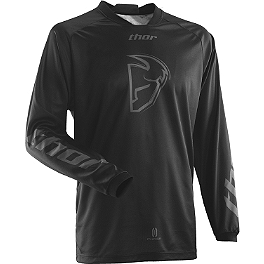 2014 Thor Phase Cold Weather Jersey - 2014 Thor Phase Jersey - Blackout