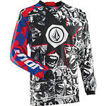 2014 Thor Phase Jersey - Volcom Paradox - MENS--JERSEYS Dirt Bike Riding Gear